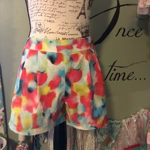Cynthia Rowley water color shirts with side zip 8
